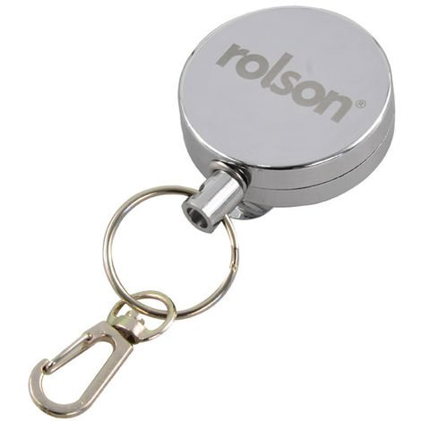 Rolson 60107 Retractable Key-Ring