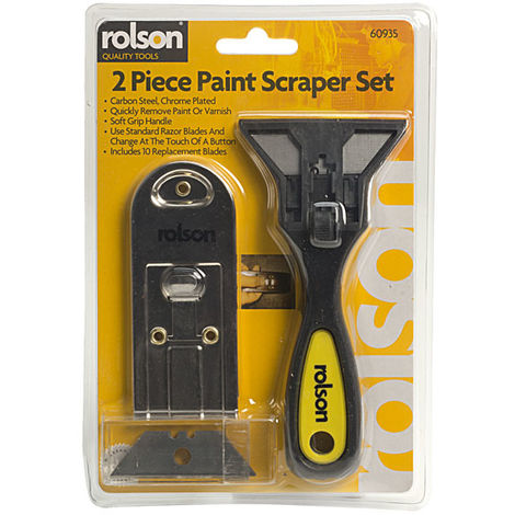 Rolson 60935 2pc Scraper Set