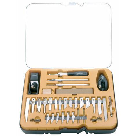 Rolson 62926 36pc Hobby Knife Set