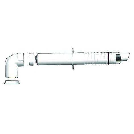 Rolux Rénofit® 60/100 - 60/100 horizontal wall terminal kit - UBBINK : 229411