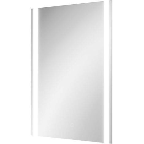 Roma 500mm x 700mm Rectangular LED Mirror