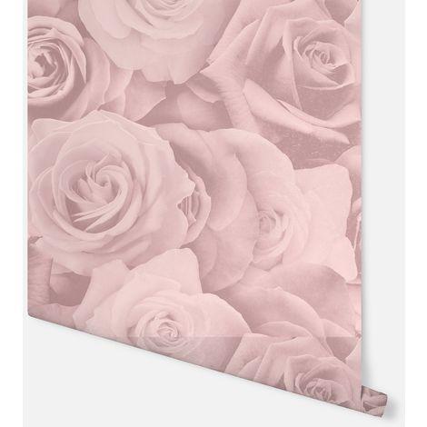 Romance Floral Blush Wallpaper - Arthouse - 906901