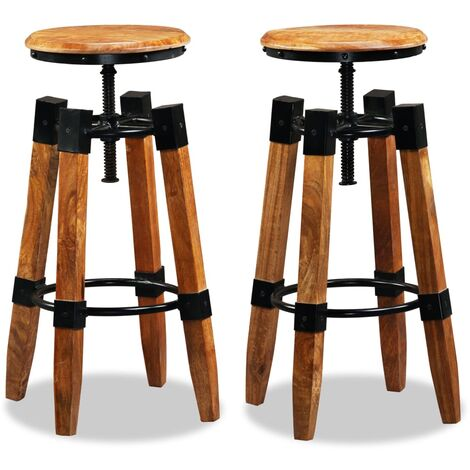 Romford Height Adjustable Bar Stool by Williston Forge - Brown