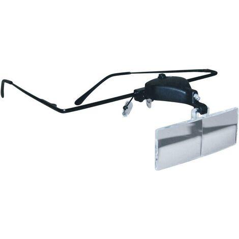 RONA 450515 Occhiali dingrandimento con illuminazione LED Ingrandimenti: 1.5 x, 2.5 x, 3.5 x