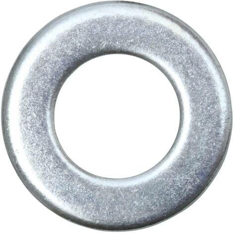 Rondelle 10.5 mm 20 mm acier galvanisé 50 pc(s) SWG 407 100 25