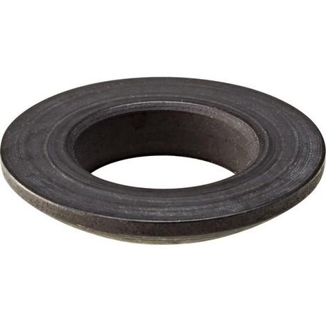 Rondelle à portée sphérique forme C, Pour vis : M12, Ø d'alésage 13,0 mm, Ø extérieur 24 mm, Hauteur h2 : 4,6 mm, Rayon (r) : 17 mm