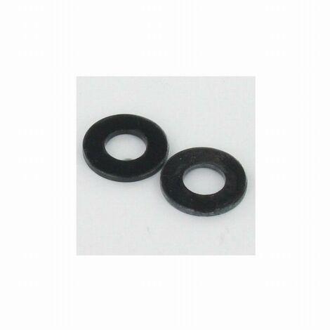 Rondelle acier TORBEL Zingué noir - M7 7.4 x 16 x 1.5 mm - Boite de 200 - 890107003F