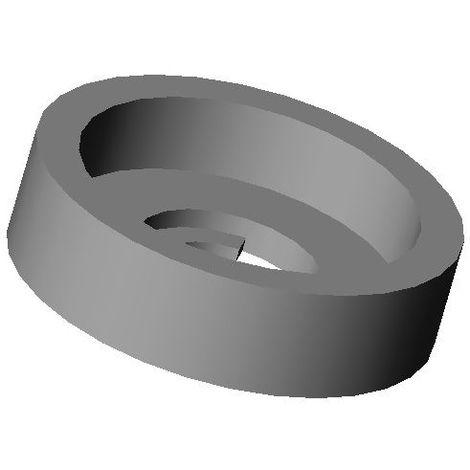 Rondelle Cuvette de Finition pour Vis à Tête Plate Plastique NOIR - Plusieurs Dimensions