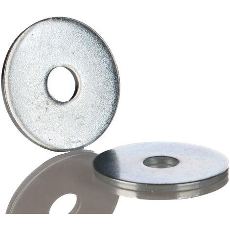 Rondelle Large, Acier Inoxydable A2 304, pour vis M8, diamètre extérieur 24mm