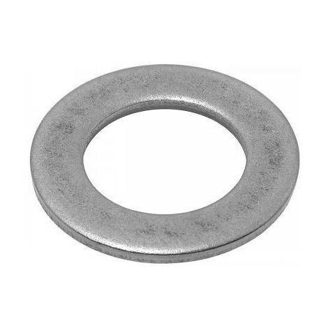 Rondelle plate étroite acier zingué Ø7 VISWOOD 7.5 x 1.5 x 14 mm - Boite 200 - ZU7