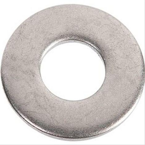 Rondelle plate inox Viswood