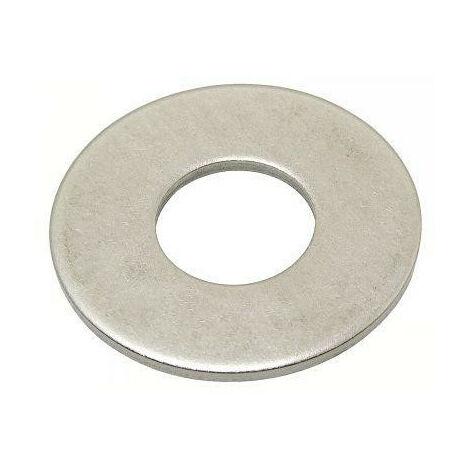 Rondelle plate large de type 'L' zingué (sachet) - plusieurs modèles disponibles