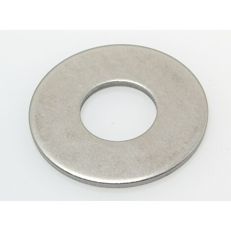 Rondelle plate large inox Acton