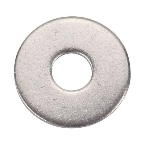 Rondelle plate large inox Acton D2 40