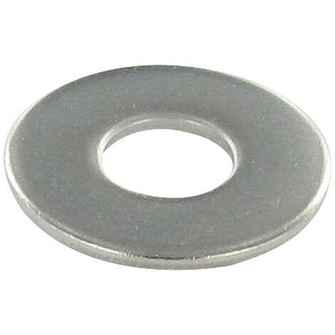 RONDELLE PLATE M2.5X7X0.5 M INOX A2
