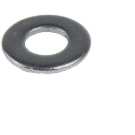 Rondelle plate, M3, Acier, 3.2mm x 7mm, Galvanisé
