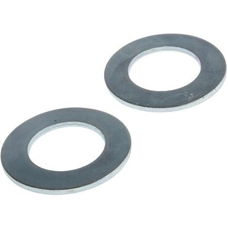 Rondelle plate, M5 (Form C), Acier, 5.3mm x 12.5mm, Galvanisé brillant