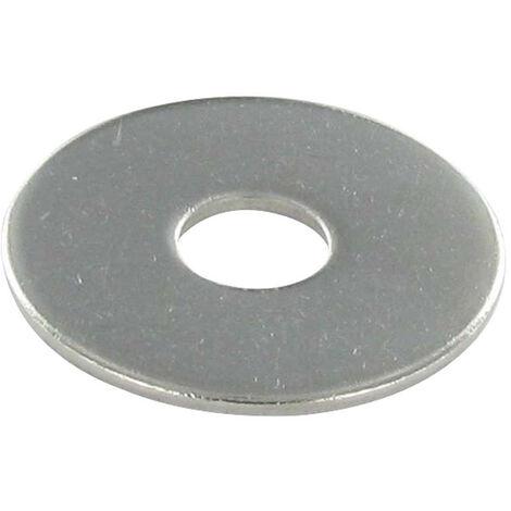 RONDELLE PLATE M8X30X1.5 LL INOX A4
