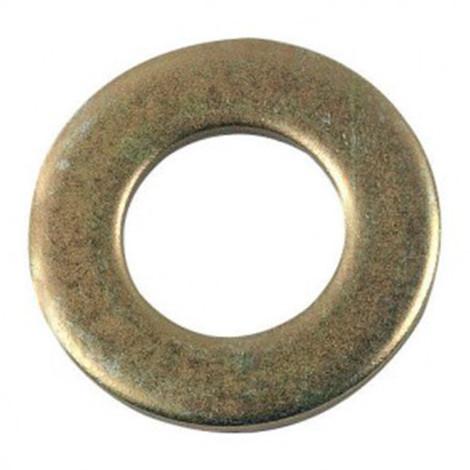 Rondelle plate moyenne M10 mm M Zinguée bichromatée - Boite de 200 pcs - Diamwood 42001003B