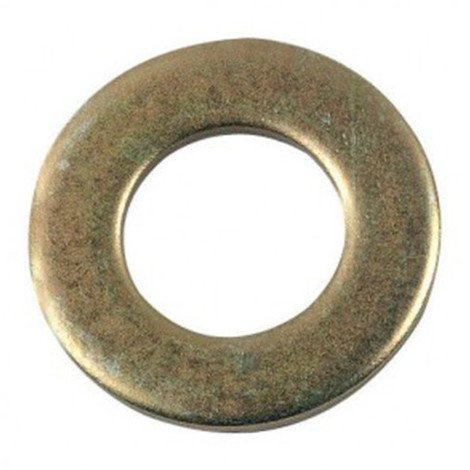 "main image of ""Rondelle plate moyenne M30 mm M Zinguée bichromatée - Boite de 25 pcs - Diamwood 42003003B"""