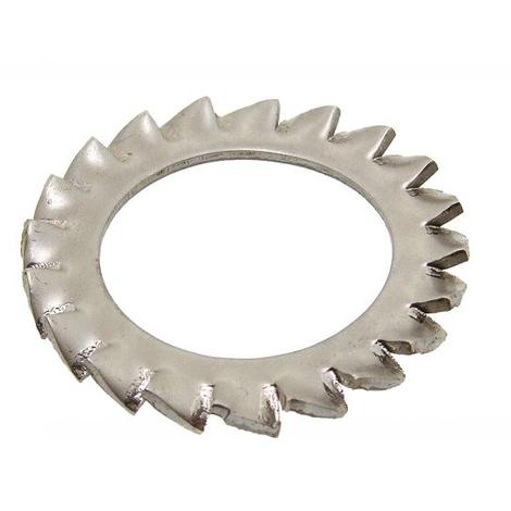 Rondelles éventail à dentures extérieure en Inox A2 ACTON