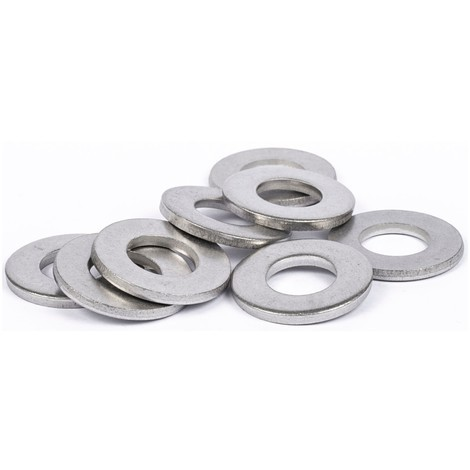 Rondelles plates Moyenne (M) inox A2