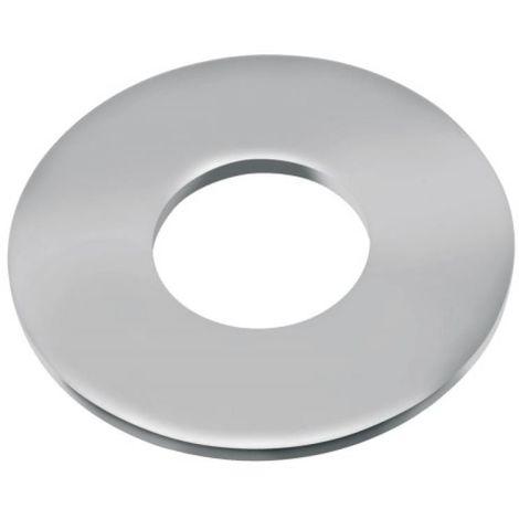 Rondelles plates série large Lu inox A4, diamètre 6 mm, boîte de 100 pièces