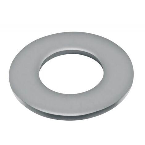 Rondelles plates série moyenne Mu inox A4, diamètre 12 mm, boîte de 50 pièces