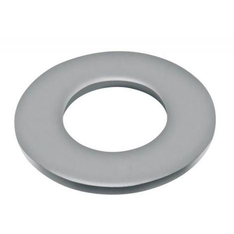 Rondelles plates série moyenne Mu inox A4, diamètre 8 mm, boîte de 100 pièces