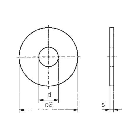 """main image of """"RONDELLES TOOLCRAFT 3,2 D9021 POLY 194730 DIN 9021 Ø INTÉRIEUR: 3.2 MM M3 PLASTIQUE 100 PC(S)"""""""