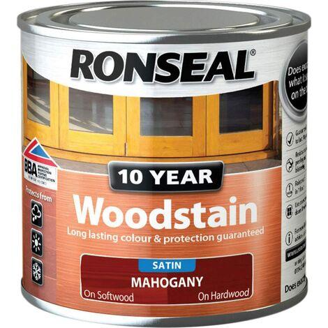 Ronseal 10 Year Woodstain Mahogany 250ml