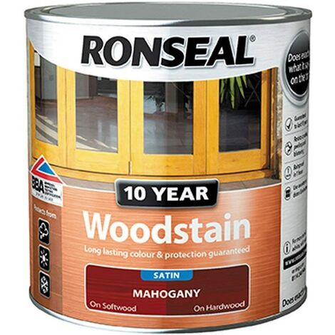 Ronseal 10 Year Woodstain Mahogany 750ML