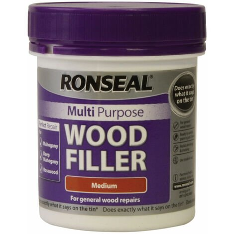 Ronseal 34737 Multipurpose Wood Filler Tub Medium 250g