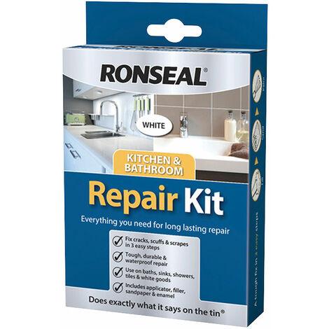 "main image of ""Ronseal 35108 Kitchen & Bathroom Repair Kit 60g"""