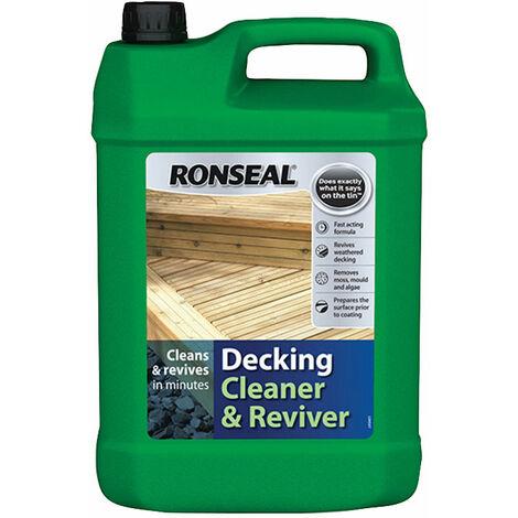 Ronseal 35903 Decking Cleaner & Reviver 5 litre