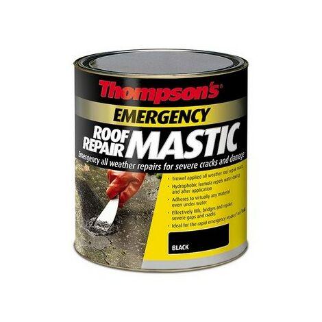 Ronseal 36082 Thompsons Emergency Roof Repair Mastic 750ml