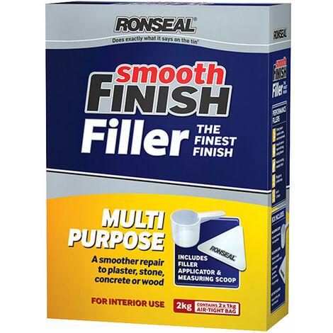 Ronseal 36550 Smooth Finish Multipurpose Wall Powder Filler 2kg