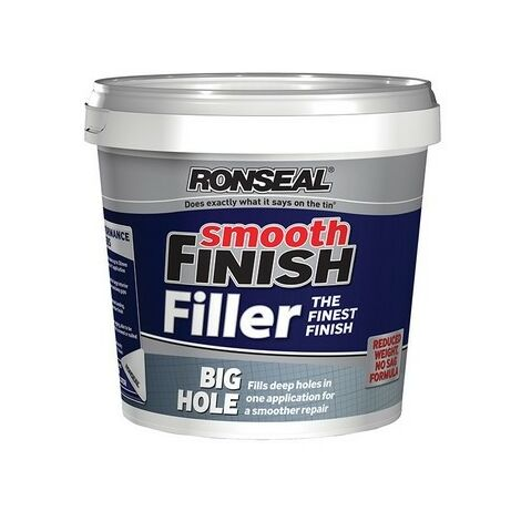 Ronseal 36558 Smooth Finish Big Hole Filler 1.2 Litre