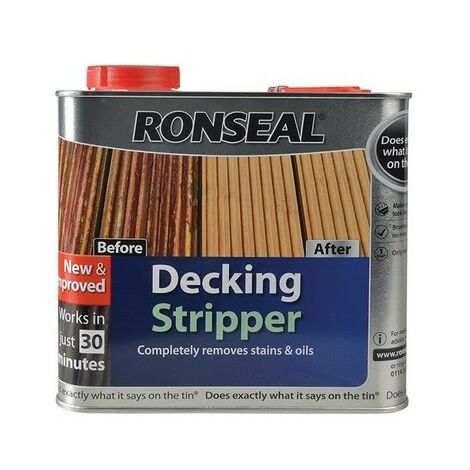 Ronseal 37264 Decking Stripper 2.5L (30 Minute)