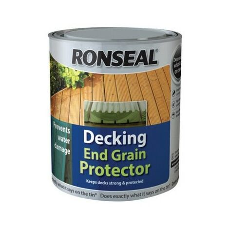 Ronseal 37334 Decking End Grain Preserve Green 750ml