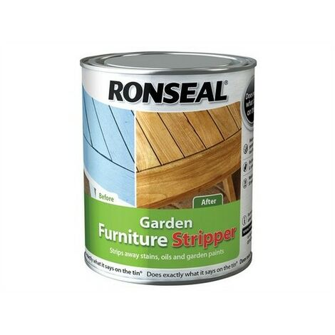 Ronseal 37360 Garden Furniture Stripper 750ml