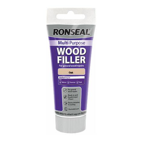 Ronseal 37532 Multipurpose Wood Filler Tube Oak 325g