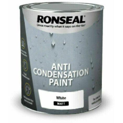 "main image of ""Ronseal 37475 Anti Condensation Paint White Matt 2.5 Litre"""