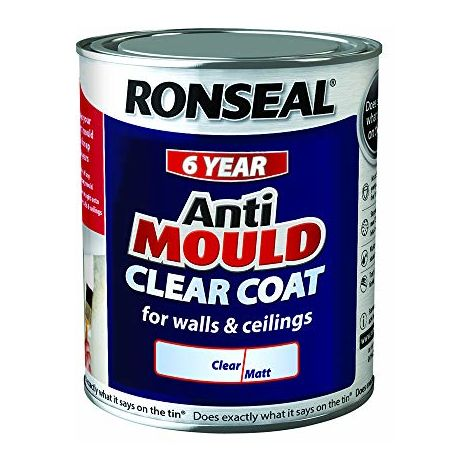 Ronseal Anti Mould Clear Coat 750ml