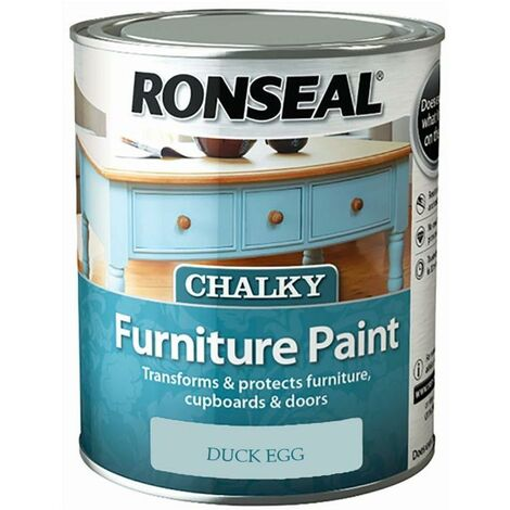 """main image of """"Ronseal - One Coat Chalky Furniture Paint - 750ml - Pebble"""""""