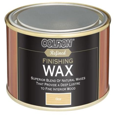 Ronseal Colron Refined Finishing Wax Clear 32