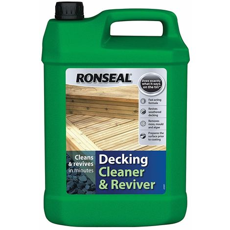 Ronseal Decking Cleaner & Reviver 5L