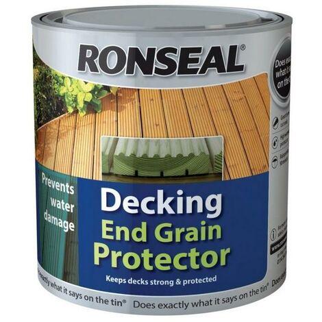 Ronseal Decking End Grain Preserver - Green - 750ml