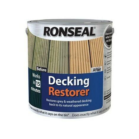 Ronseal 35767 Decking Restorer 2.5 Litre