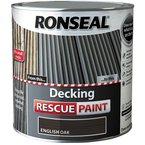 """main image of """"Ronseal Decking Rescue Paint - For New Look Decking - All Sizes - All Colours"""""""